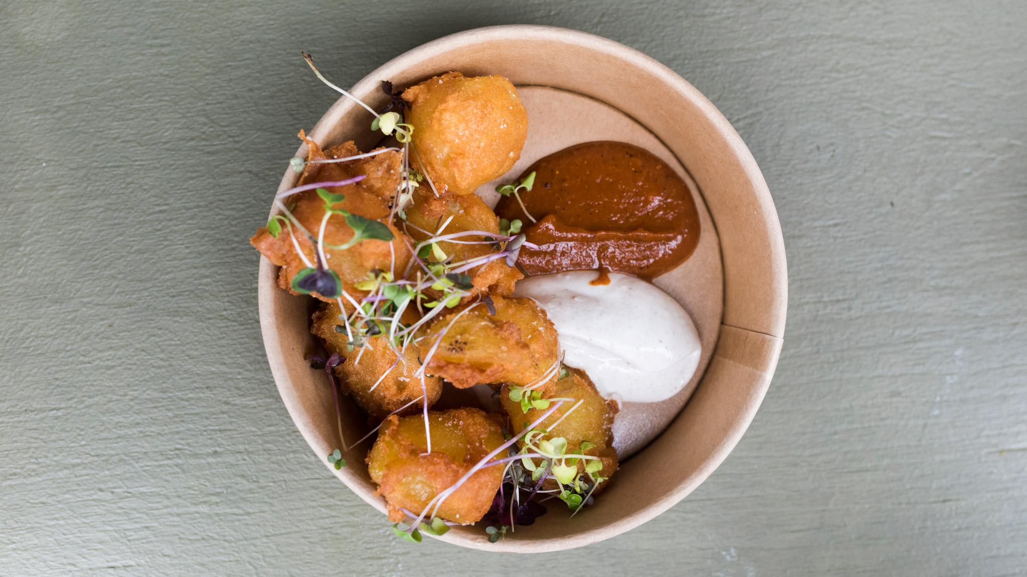 Kuva ravintola Kuurnan peruna-annoksesta