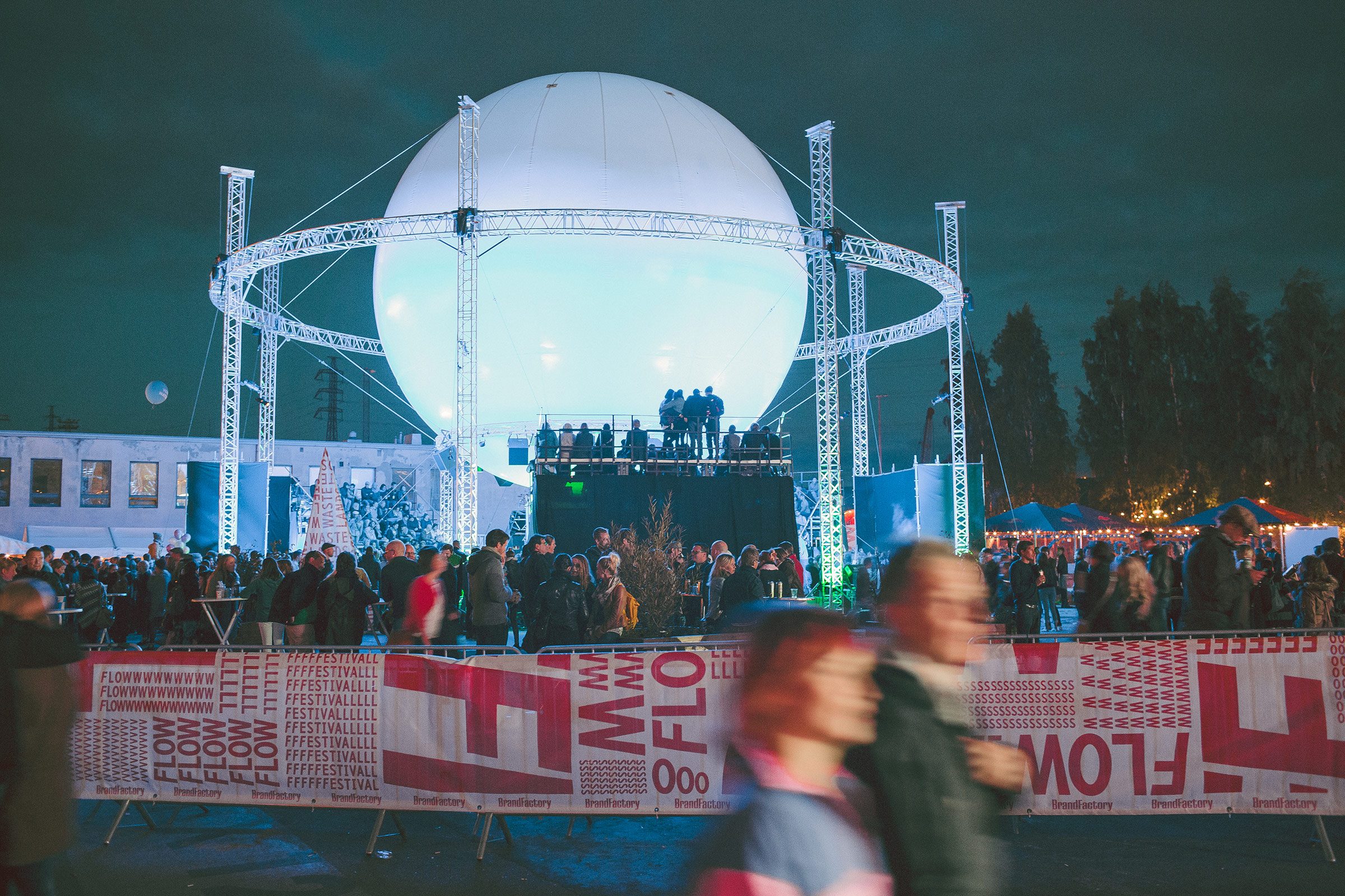 New Wastelands stage at Flow Festival 2012